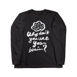 brain ロングスリーブTシャツ