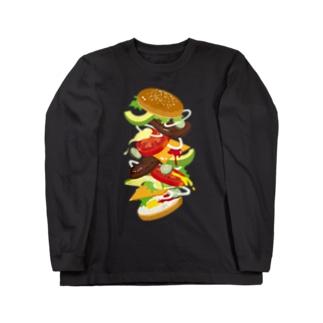 フォーリングハンバーガー ロングスリーブTシャツ