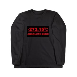 絶対零度(黒プレートタイプ) ロングスリーブTシャツ