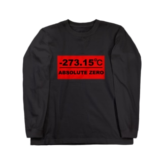 絶対零度(赤プレートタイプ) ロングスリーブTシャツ