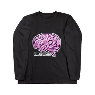 脳みそロンT ロングスリーブTシャツ