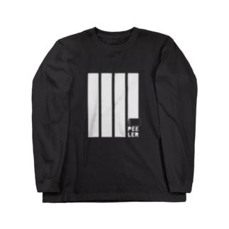 PEELER-08(WT) ロングスリーブTシャツ