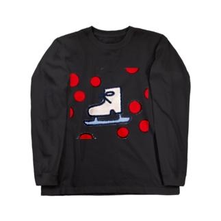 JAPANイメージスケート靴 ロングスリーブTシャツ