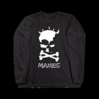 MAMESTORE / for SAMPLEの悪路王髑髏・BIGver. ロングスリーブTシャツ