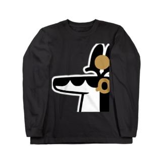 とーとつにエジプト神 セベク ロングスリーブTシャツ