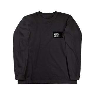 Enemy AC130 Above!!(Black) ロングスリーブTシャツ