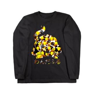 わんだふる(黄) ロングスリーブTシャツ