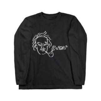 E=mc2 ロングスリーブTシャツ