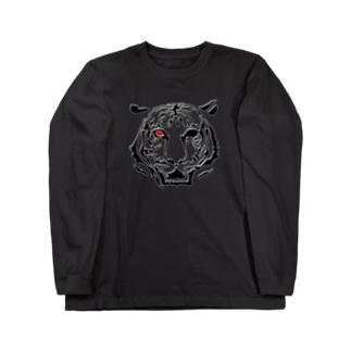 Tiger_03 ロングスリーブTシャツ