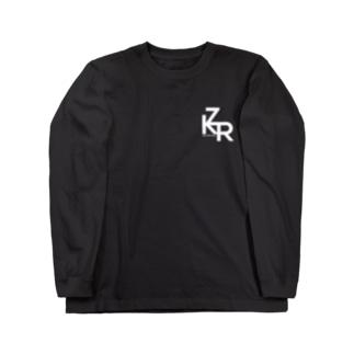 ZKR Tシャツ(ロゴ白ver.) ロングスリーブTシャツ