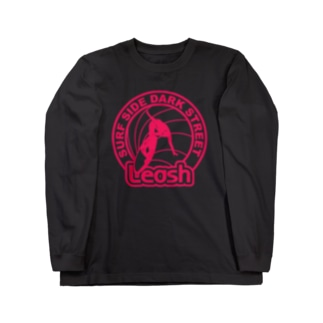 LEASH  DARK COLOR VERSION ロングスリーブTシャツ