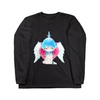 堕天使 ロングスリーブTシャツ