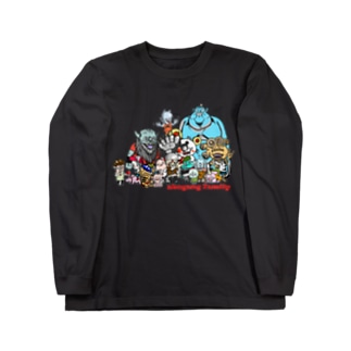 ahogang family ロングスリーブTシャツ