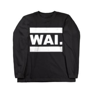 モノクロZLT(WAI) ロングスリーブTシャツ