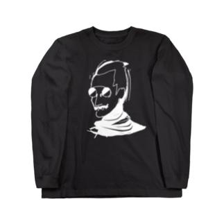 オーナー ブラック ロングスリーブTシャツ