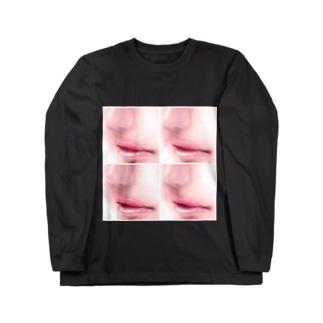Lip collection ロングスリーブTシャツ