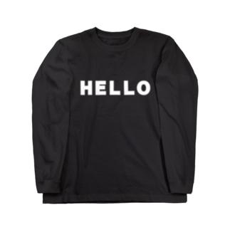 hello ロングスリーブTシャツ