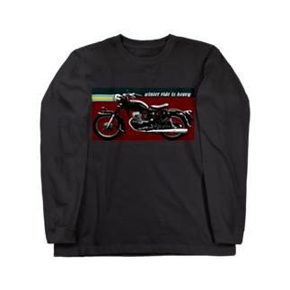なんとなくバイク ロングスリーブTシャツ