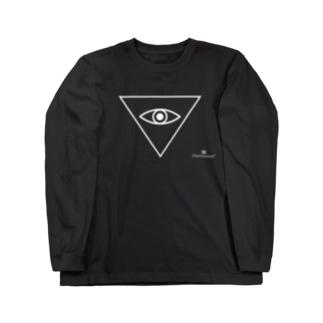 逆三角おめめ ロングスリーブTシャツ