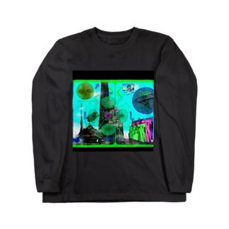 未来都市 ロングスリーブTシャツ