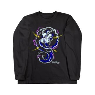 SAABO_Creatures_S_B ロングスリーブTシャツ