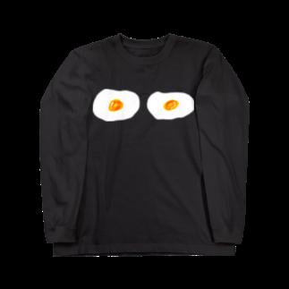 明季 aki_ishibashiの卵ブラ ロングスリーブTシャツ