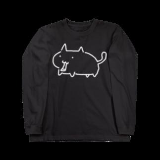 anica storeのねこ ロングスリーブTシャツ