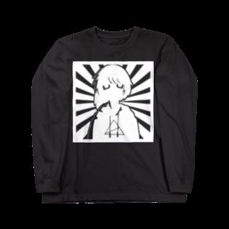 anica storeのanica illust ロングスリーブTシャツ