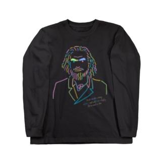 ロシア人 - Neon ロングスリーブTシャツ