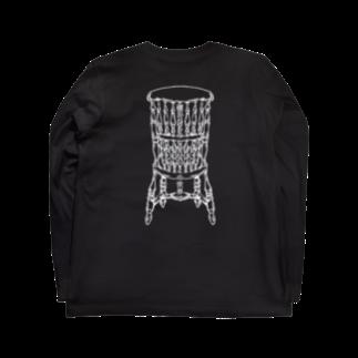 ScapegoatのDead Man's Chair-Memento Mori(濃色向け) Long sleeve T-shirts