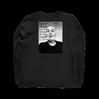 122_osx__のスキンヘッドわたぼう Long sleeve T-shirts