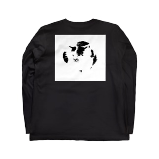吾が輩 Long sleeve T-shirts