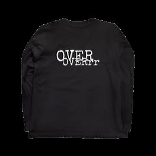 hachi08のOVERシリーズ1 Long sleeve T-shirtsの裏面