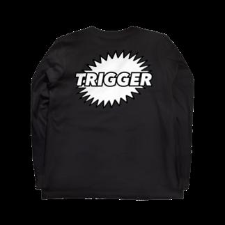 teensのTRIGGER Long sleeve T-shirts