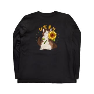 ひだまり&麦 Long sleeve T-shirts