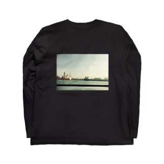 バックプリント フォト Long sleeve T-shirts