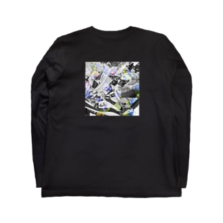 textile_sneakers×flowers Long sleeve T-shirts