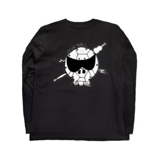 メタル スカル Long sleeve T-shirts
