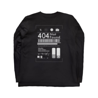 悩める若者白 Long sleeve T-shirts