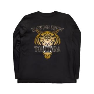 CONITA BIG FACE / BLACK Long sleeve T-shirts