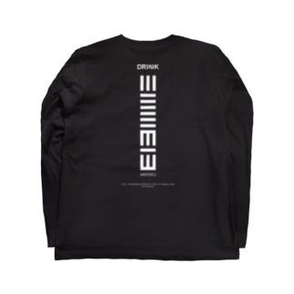 [Staff ver.] 三六九 x DRINK 001 Long sleeve T-shirts
