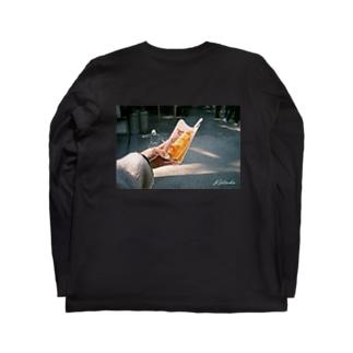 チーズドックスケーター Long sleeve T-shirts