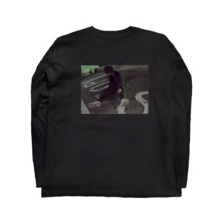 Yuu.I 2020/SS Yu Ichihira フォト&bar code Long sleeve T-shirts