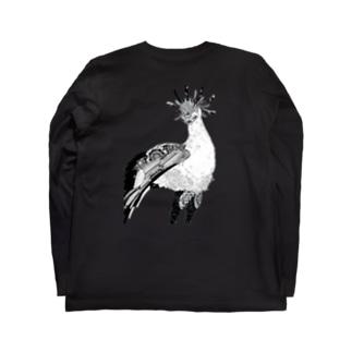 Botanical-Snake eagle Long sleeve T-shirts