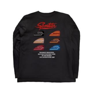 スポーツスター 1976 アイアンヘッド タンク  Long sleeve T-shirts