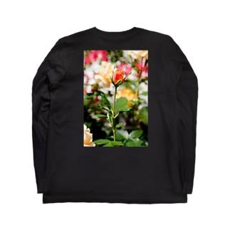 FLOWERS-蕾- Long sleeve T-shirts
