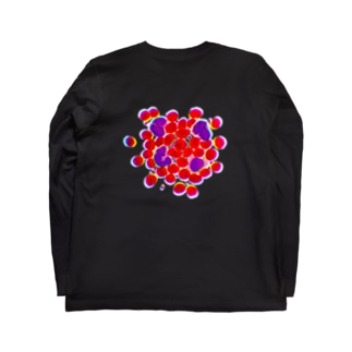 blood cells〜血球〜 Long sleeve T-shirts