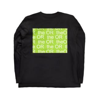 THE OR ロングスリーブTシャツ1 Long sleeve T-shirts