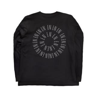 EN.縁、円。 Long sleeve T-shirts