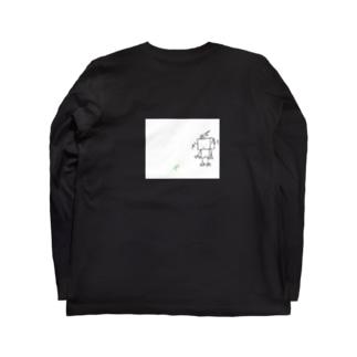SUIKEIのラクガキ Long sleeve T-shirts